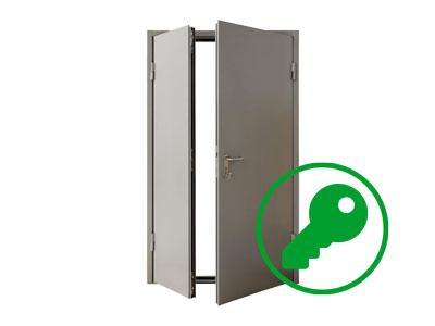Взлом входных металлических дверей